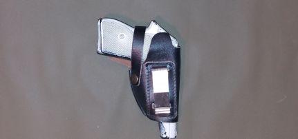 Fegyvertok Bőr R61 csipeszes