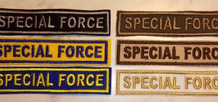 Special Forces felirat