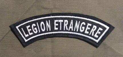 Legion Etrangere felirat
