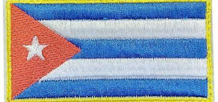 Kuba Zászló felvarró