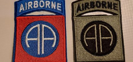 Airborne Légideszant felvarró