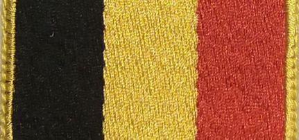 Belgium Zászló felvarró