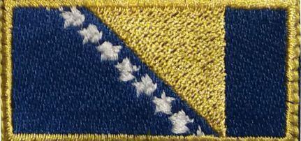 Bosznia Zászlós felvarró