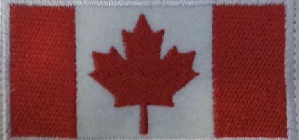 Canadai zászló felvarró