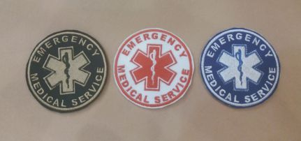 Emergency Medical Service felvarró