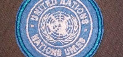 ENSZ felvarró