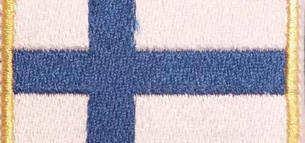 Finn Zászlós felvarró