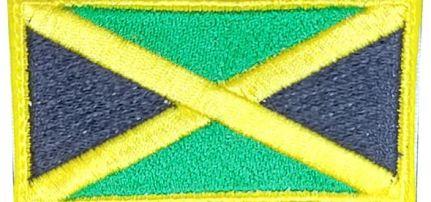 Jamaica Zászló felvarró