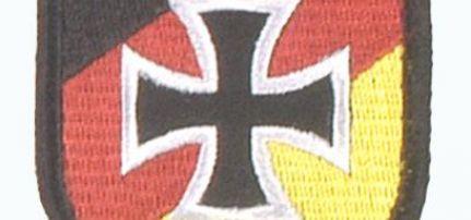 Német Vaskeresztes Pajzs felvarró