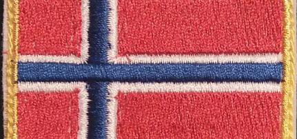 Norvég Zászlós felvarró