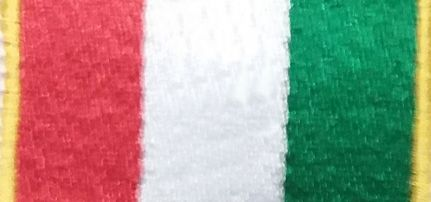 Olasz zászlós felvarró