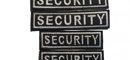 Security Felvarró