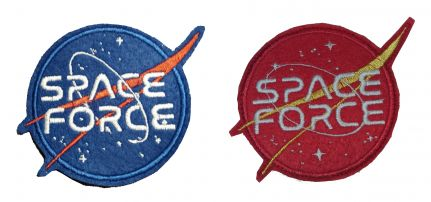 NASA Space Force Felvarró