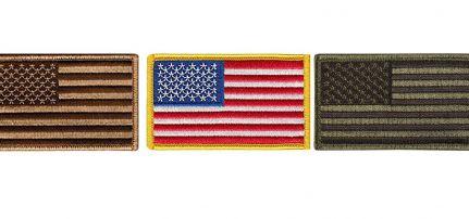 USA zászló felvarró
