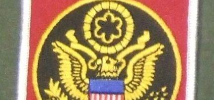 US Army felvarró