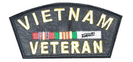 Vietnámi Veterán felvarró