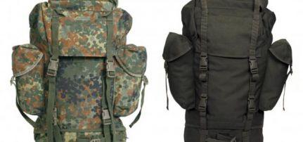 Bundeswehr használt hátizsák NATO