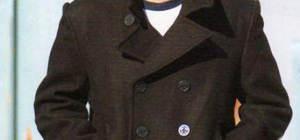 Tengerész Kabát extra méret