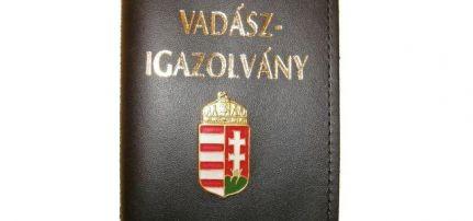 Igazolványtok Vadász 49/31