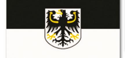 Zászló OSTPREUSSEN M.WAPPEN